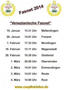 Tourplan-Fasnet-2014