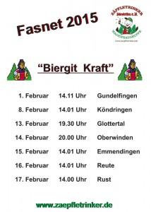 Zäpfletrinker_Tourplan-Fasnet-2015